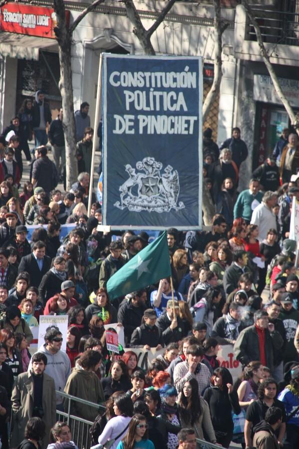 Cambios Constitución chilena entre 1980 a 2005